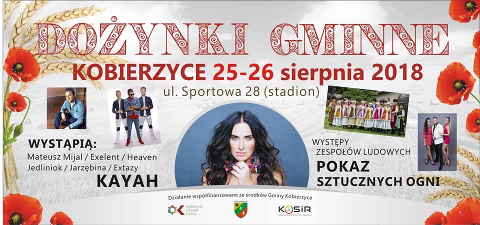 Dożynki Kobierzyce 2018 25-26 sierpnia