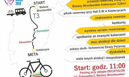 Otwarcie nowej trasy rowerowej T3 Kobierzyce – Wrocław